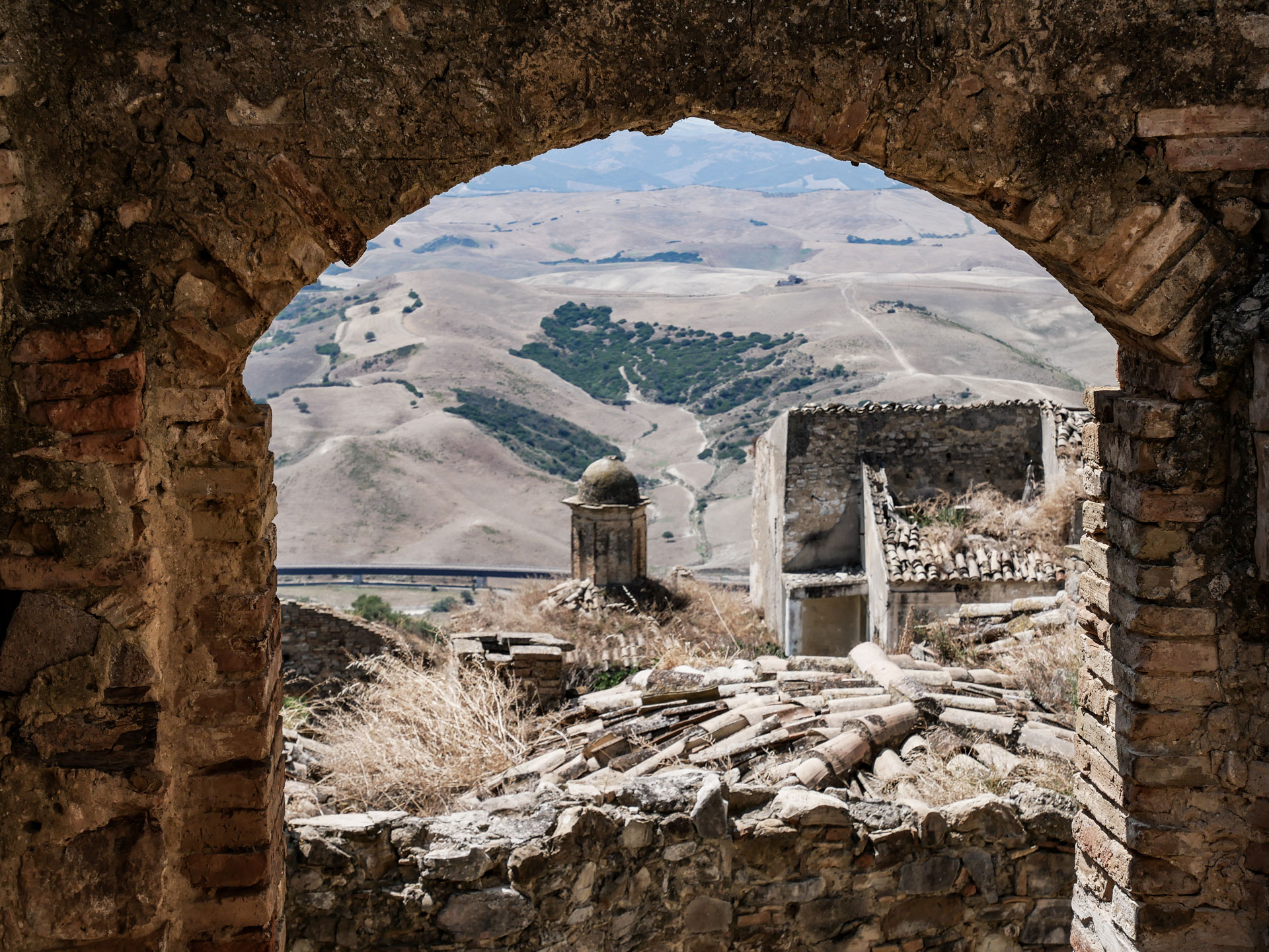 Inside Craco, the ghost town