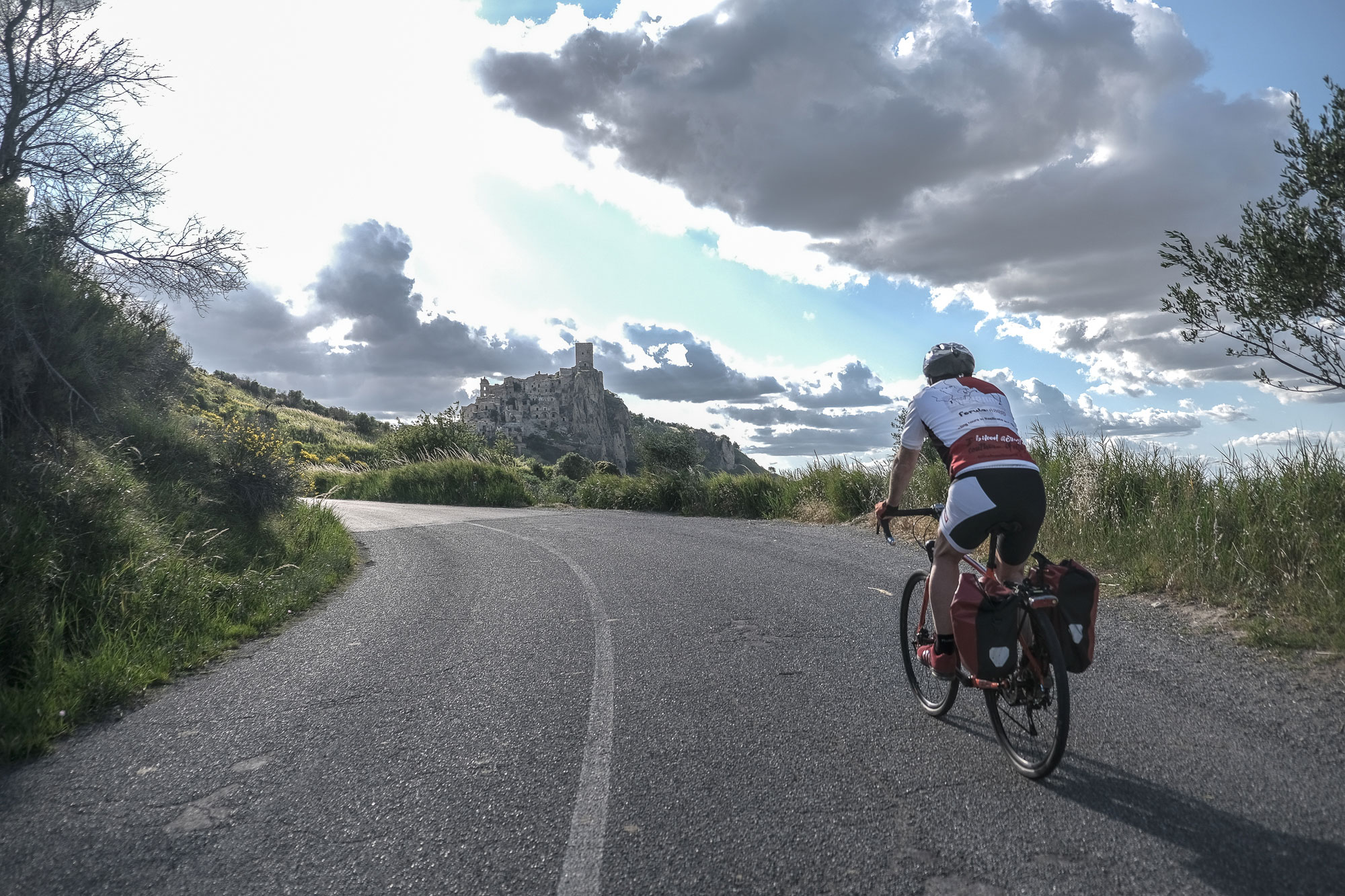 Craco, the Ghost Town by bike