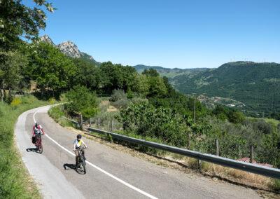 Verso le Dolomiti Lucane